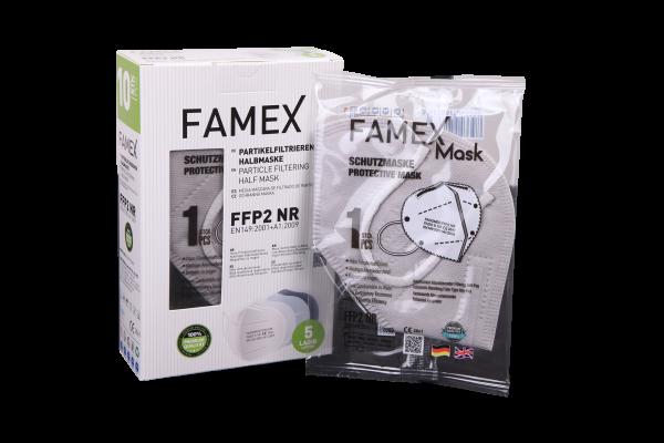 Famex mask gri renk ffp2 maske
