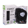 Famex Siyah Renk FFP2 Maske