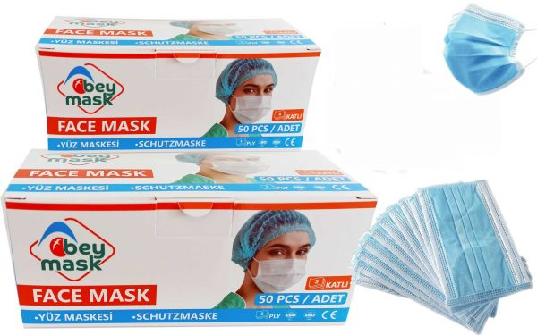 Beymask Meltblown Spunbond, Spunbond Maske, Meltblown maske, cerrahi maske, koruyucu maske, 3 katlı maske
